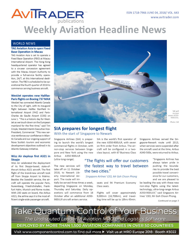 AviTrader_Weekly_Headline_News_Cover_2018-06-04