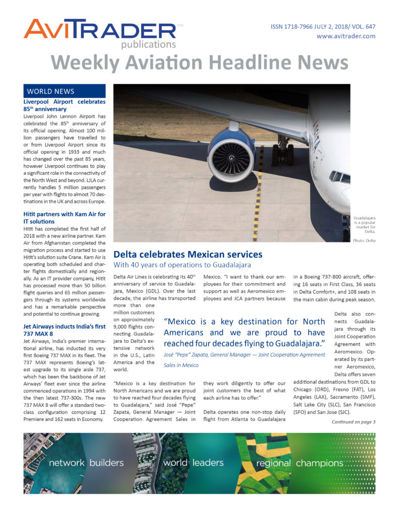 AviTrader_Weekly_Headline_News_Cover_2018-07-02