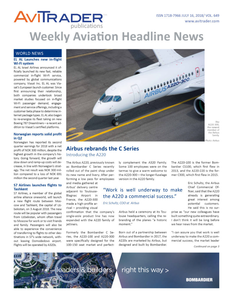AviTrader_Weekly_Headline_News_Cover_2018-07-16