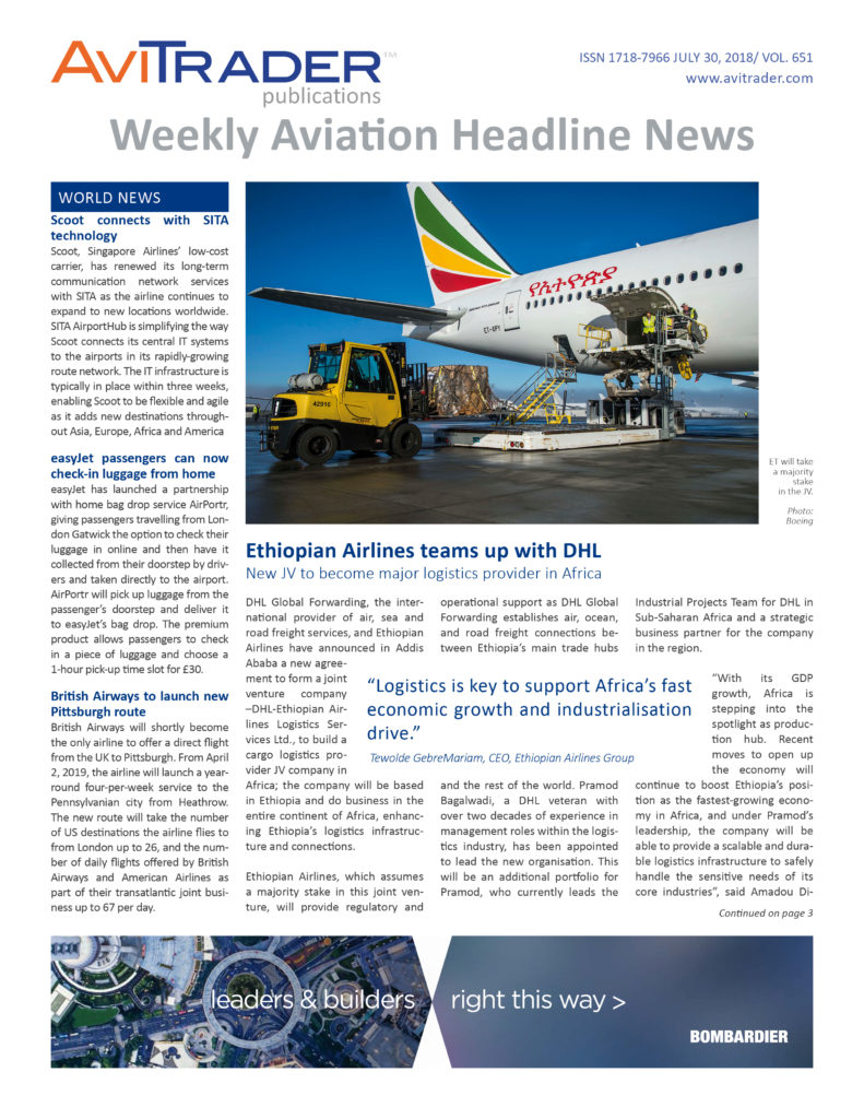 AviTrader_Weekly_Headline_News_Cover_2018-07-30