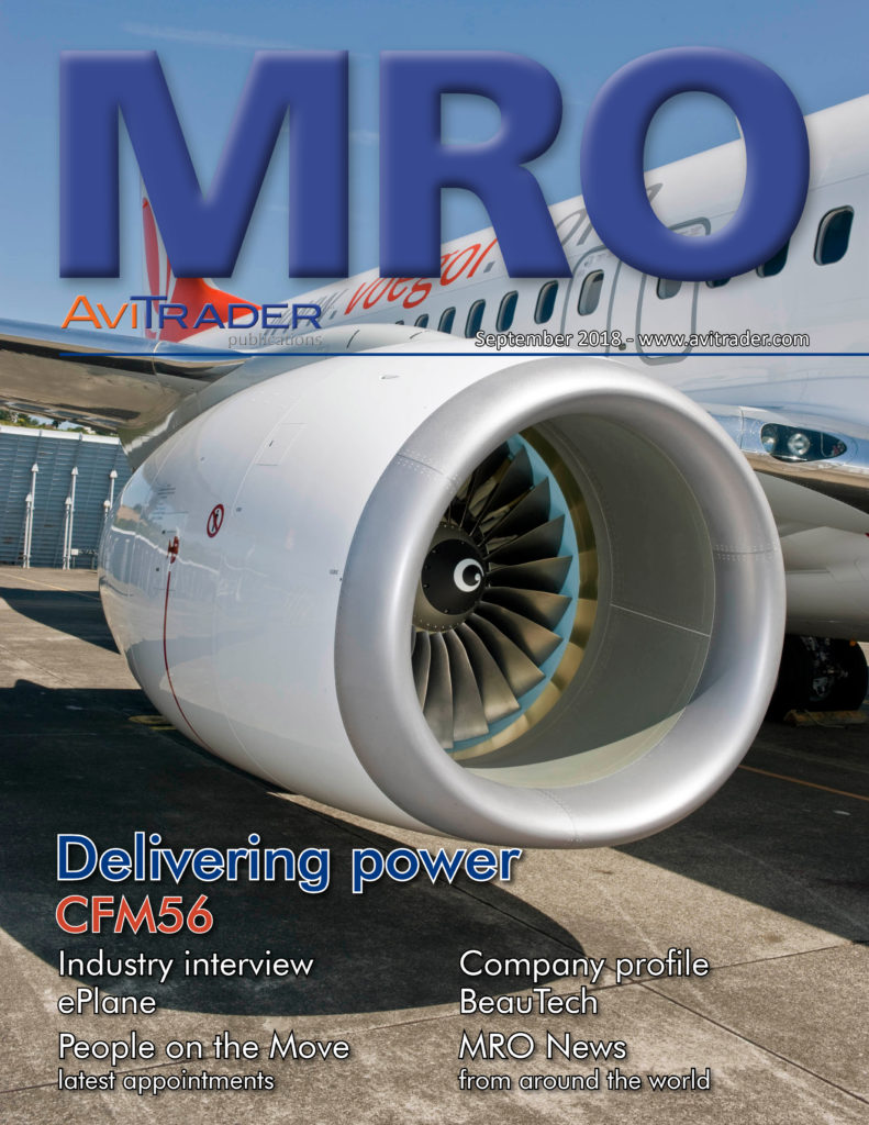 AviTrader Monthly MRO e-Magazine September 2018
