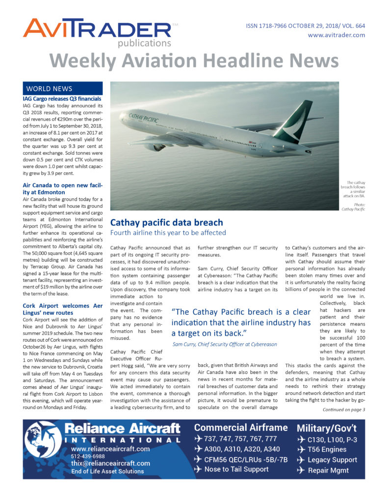 AviTrader_Weekly_Headline_News_Cover_2018-10-29