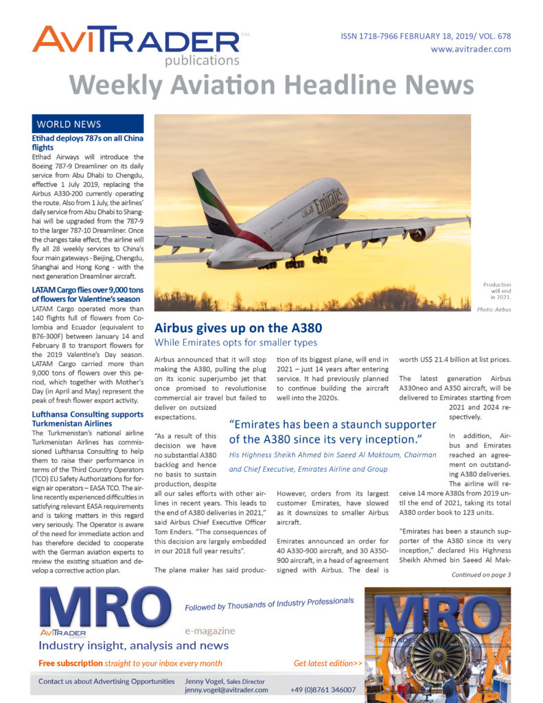 AviTrader_Weekly_Headline_News_Cover_2019-02-18