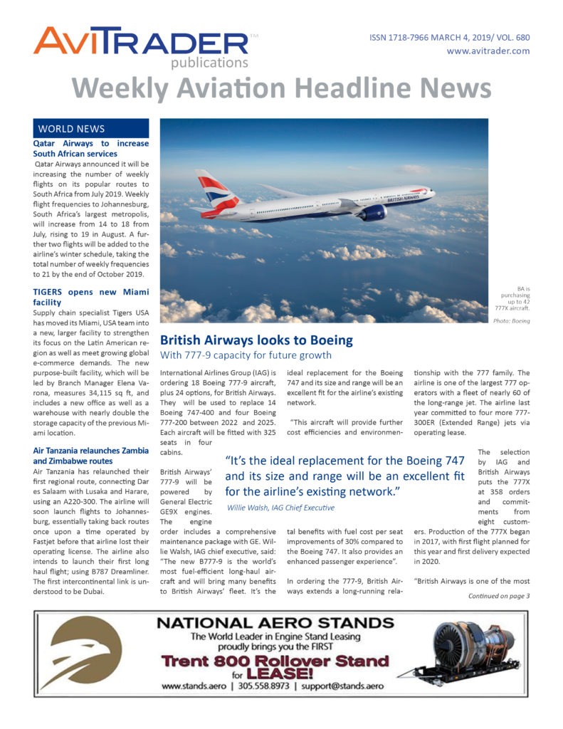 AviTrader_Weekly_Headline_News_Cover_2019-03-04
