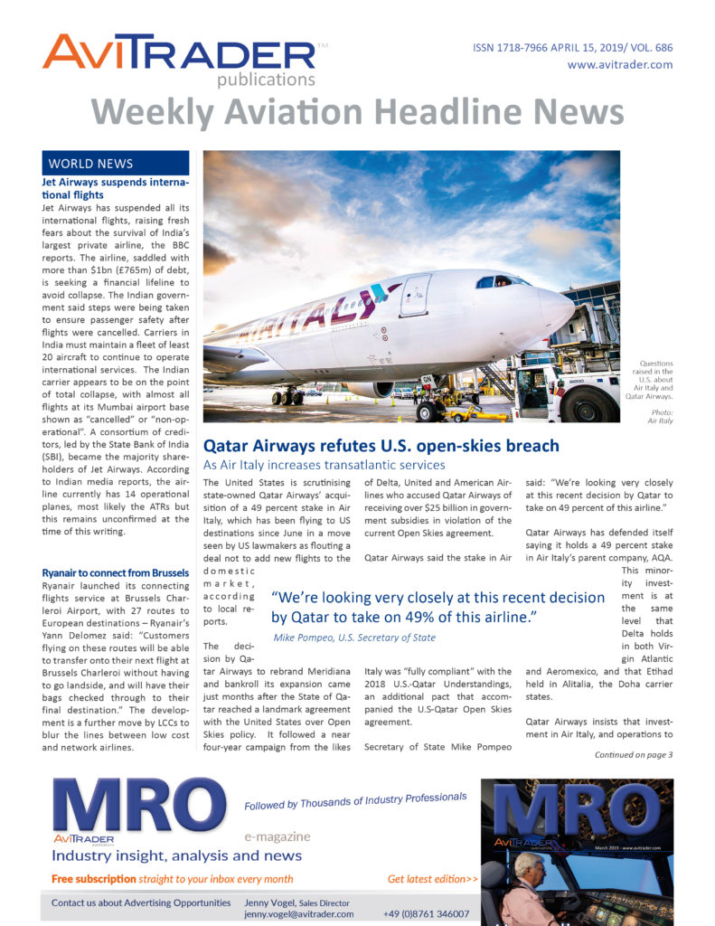 AviTrader_Weekly_Headline_News_Cover_2019-04-15