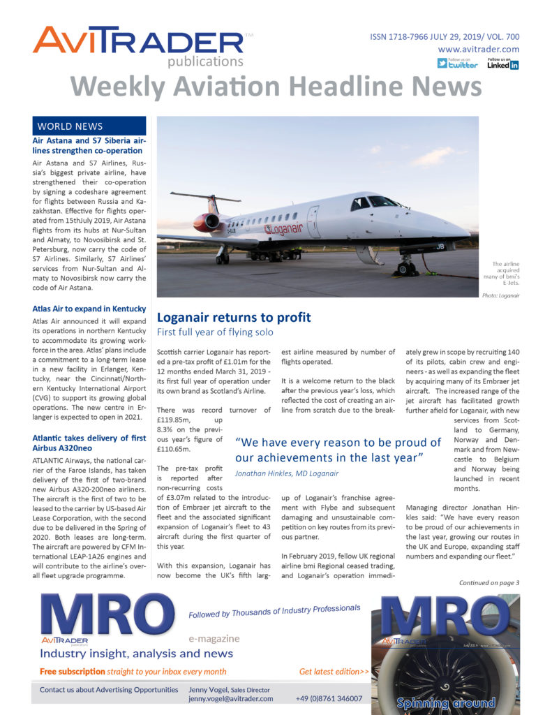 AviTrader_Weekly_Headline_News_Cover_2019-07-29
