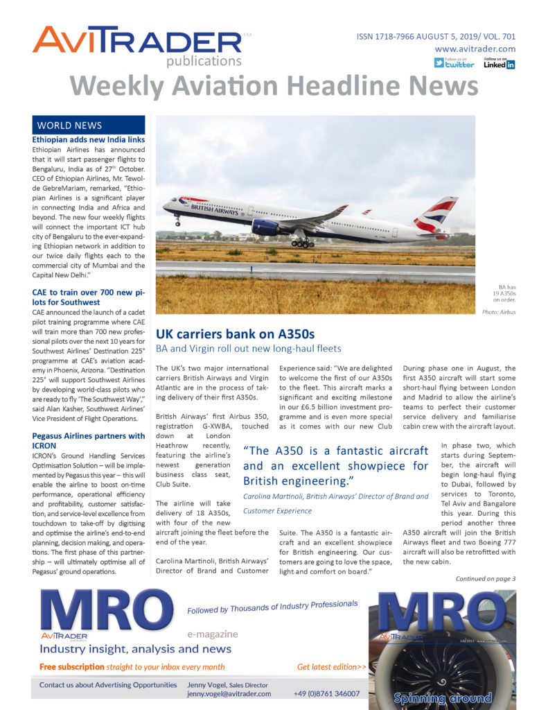 AviTrader_Weekly_Headline_News_Cover_2019-08-05