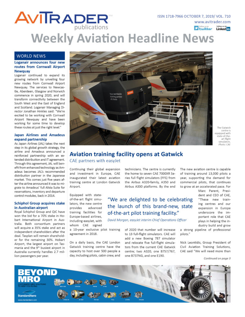 AviTrader_Weekly_Headline_News_Cover_2019-10-07
