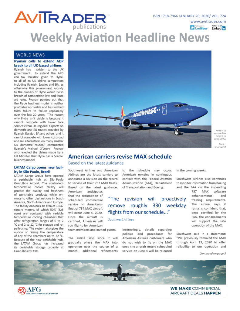 AviTrader_Weekly_Headline_News_Cover_2020-01-20