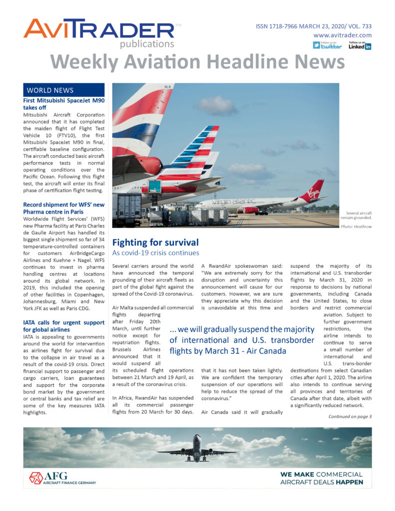 AviTrader_Weekly_Headline_News_Cover_2020-03-23