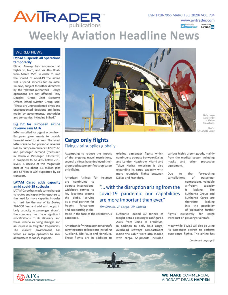 AviTrader_Weekly_Headline_News_Cover_2020-03-30
