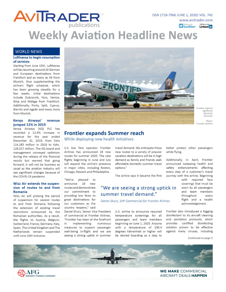 AviTrader_Weekly_Headline_News_Cover_2020-06-01