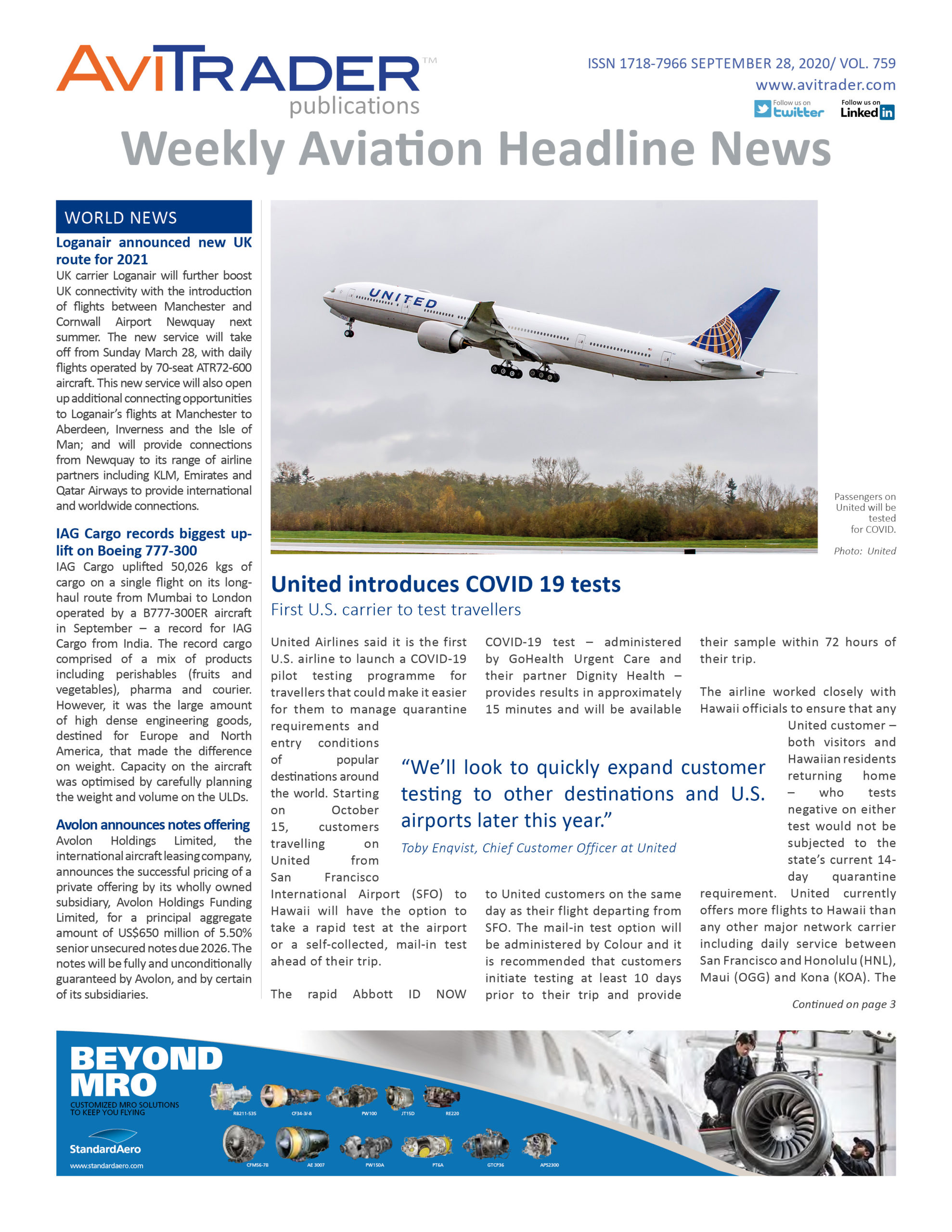 AviTrader_Weekly_Headline_News_Cover_2020-09-28