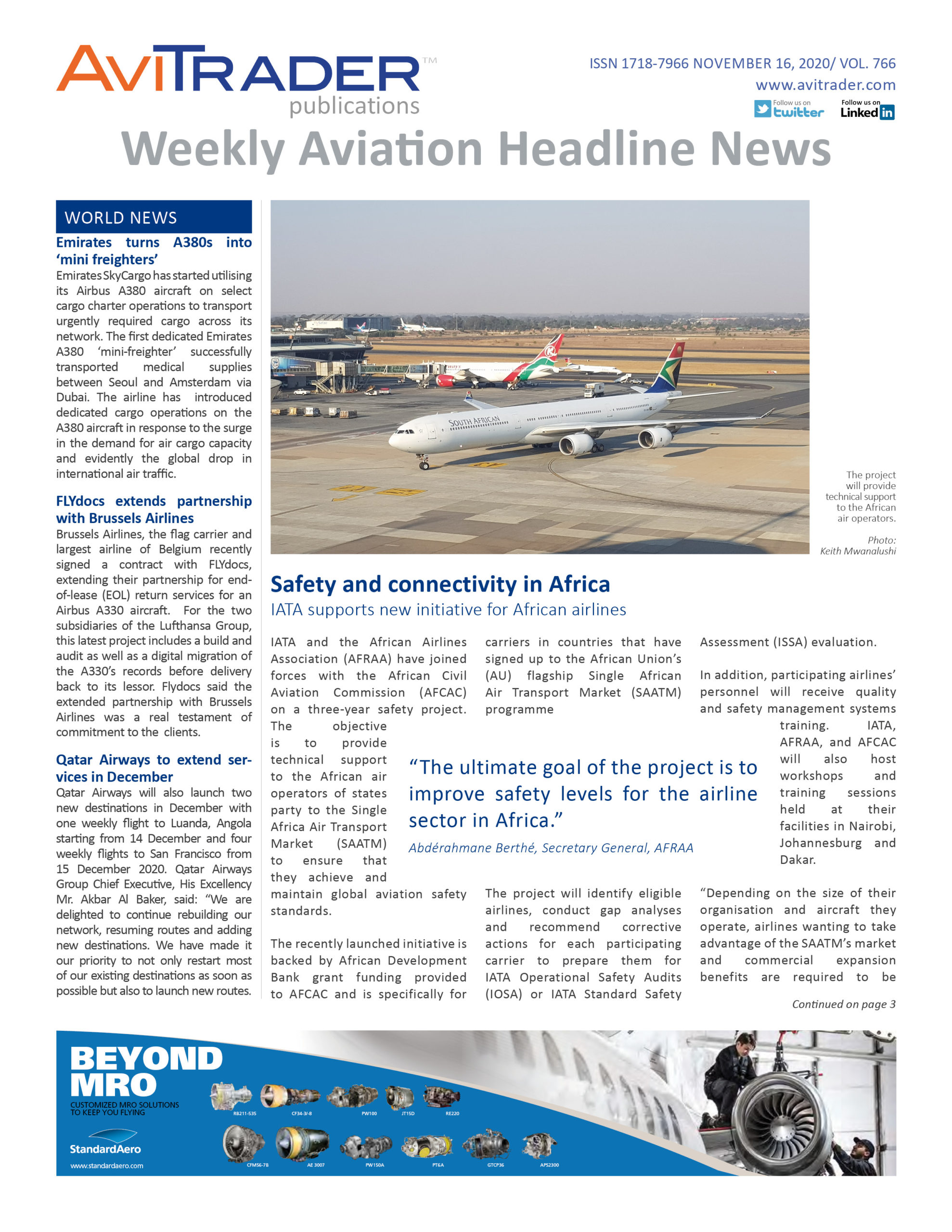 AviTrader_Weekly_Headline_News_Cover_2020-11-16