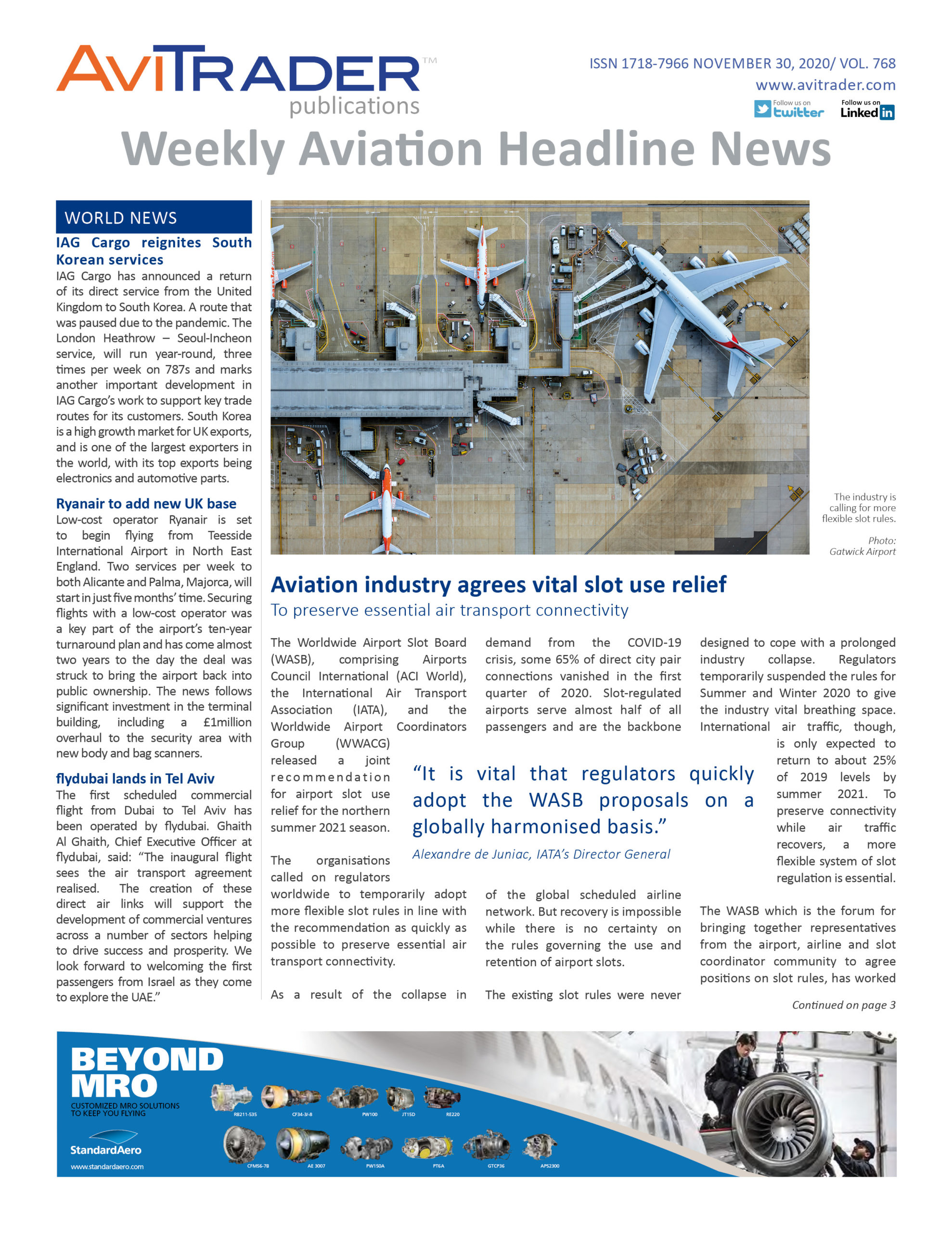 AviTrader_Weekly_Headline_News_Cover_2020-11-30